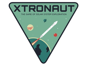 "Xtronaut's ""mssion patch."""