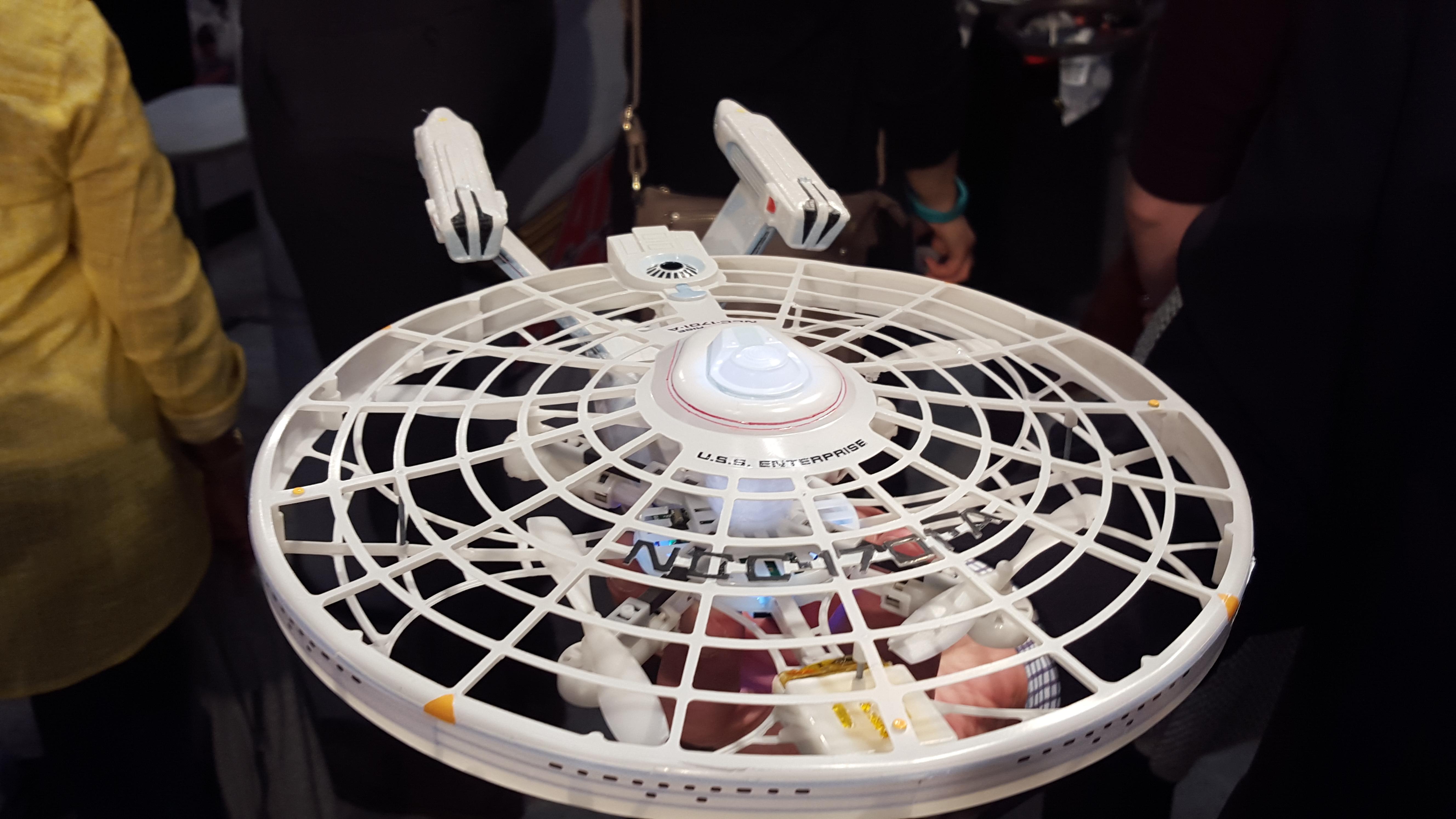"""Spin Master's """"Star Trek"""" Enterprise Drone"""