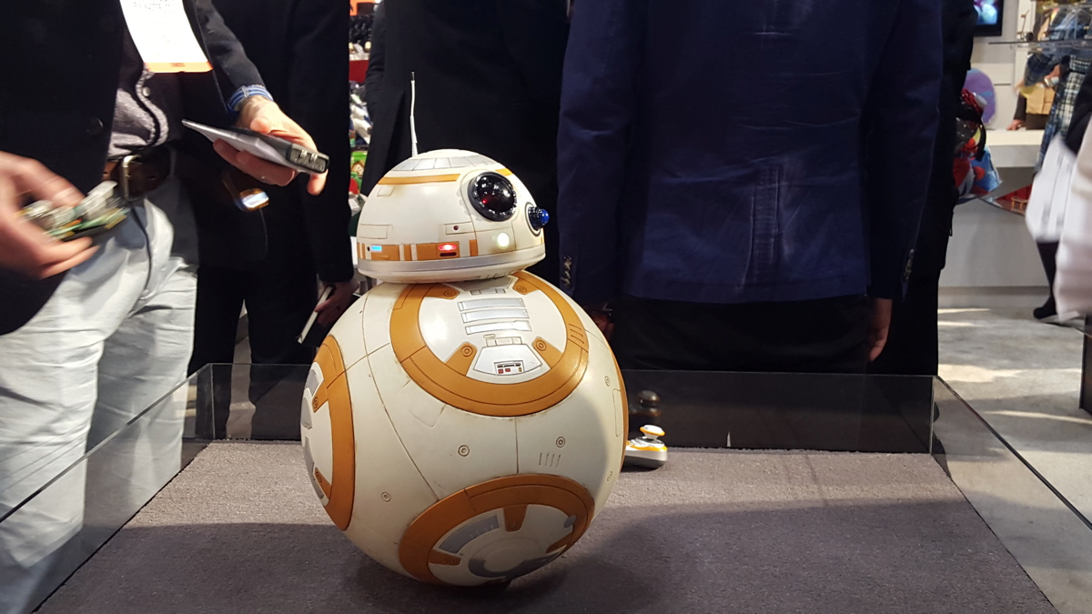 This Voice-Controlled BB-8 Is THE Droid You've Been Looking For