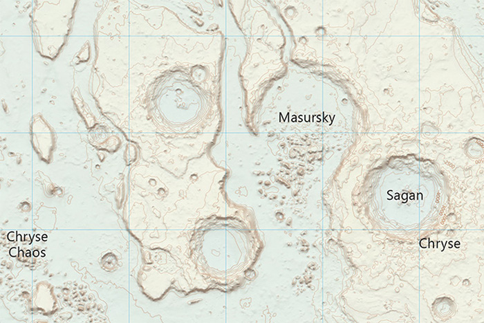 Watney Would Approve: Ordnance Survey Maps Mars
