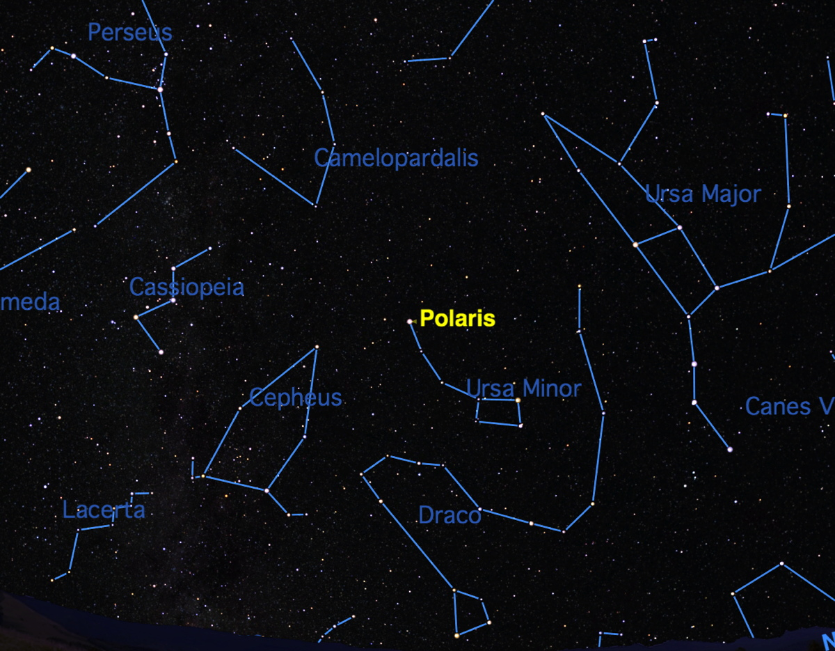 planets and constellations night sky - photo #23