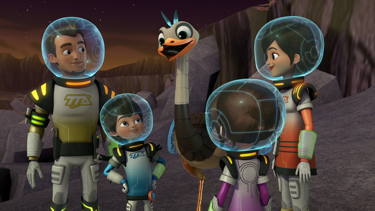 Disney's 'Miles From Tomorrowland' Fuses Space Science and Fun