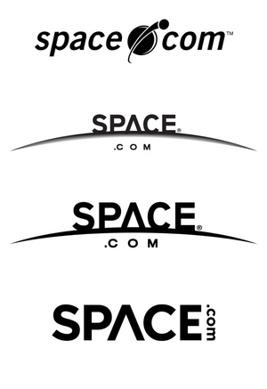 A look at Space.com's logo evolution through the years.