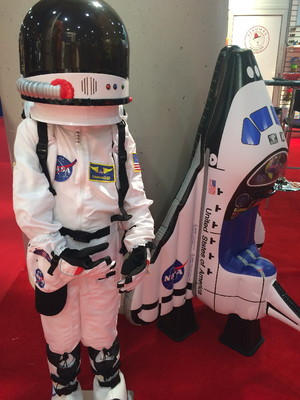 Aeromax makes astronaut dress-up clothes for kids and adults.