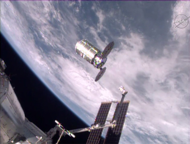 Private Cygnus Cargo Ship Leaves Space Station to Meet Fiery Doom