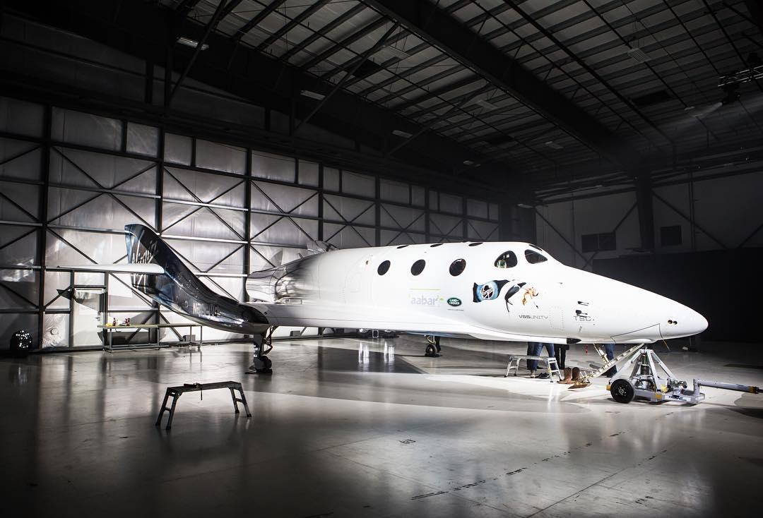 Virgin Galactic's New SpaceShipTwo