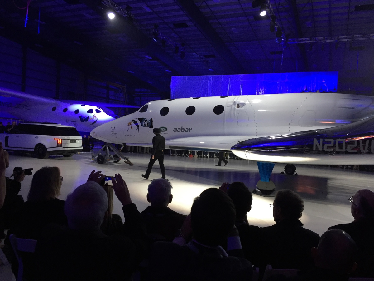 VSS Unity, the New SpaceShipTwo