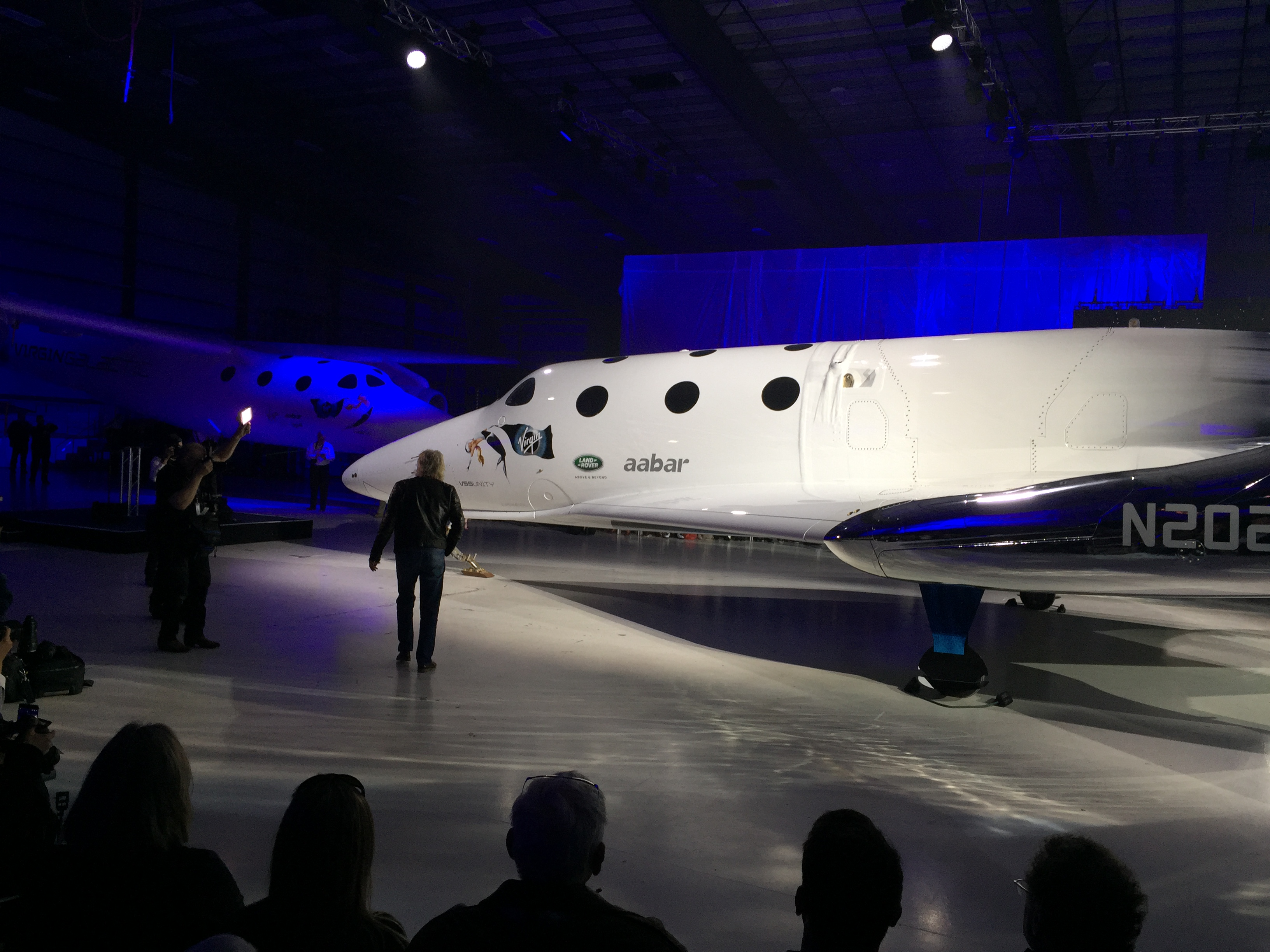 Richard Branson and VSS Unity