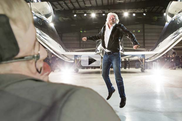 Hawking Finds 'Kindred Spirit' Branson In Space | Video