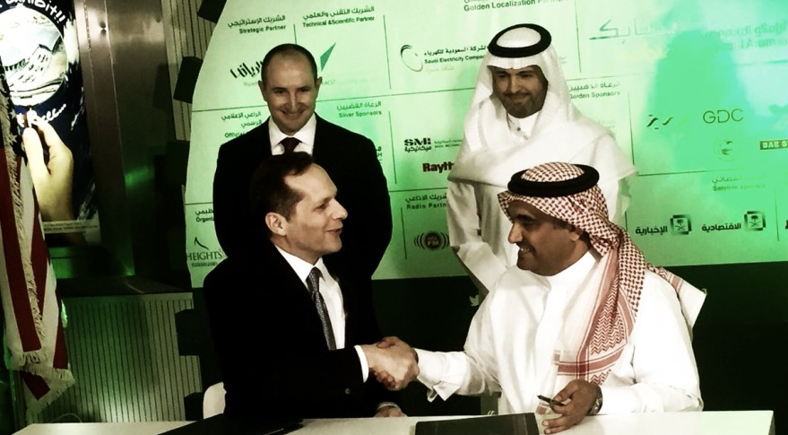 DigitalGlobe and Saudi Government Sign Joint Venture on Satellite Imaging Constellation