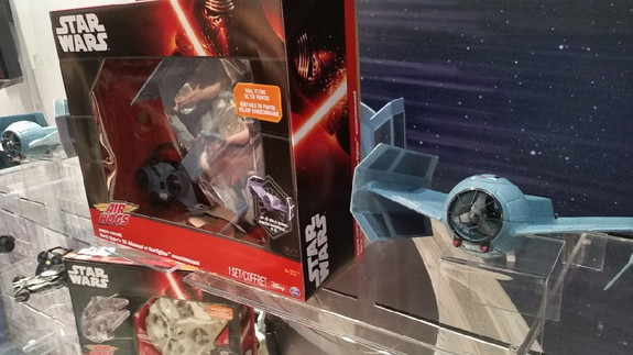 The Star Wars Remote Control Zero Gravity TIE Advance X1 from Air Hogs.