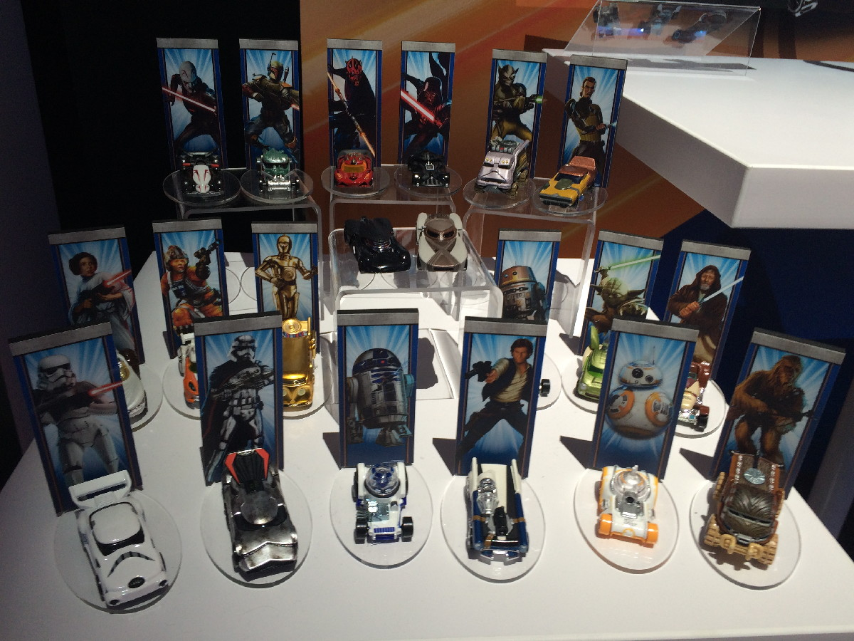 Star Wars Toys : Star wars toys in force at new york toy fair