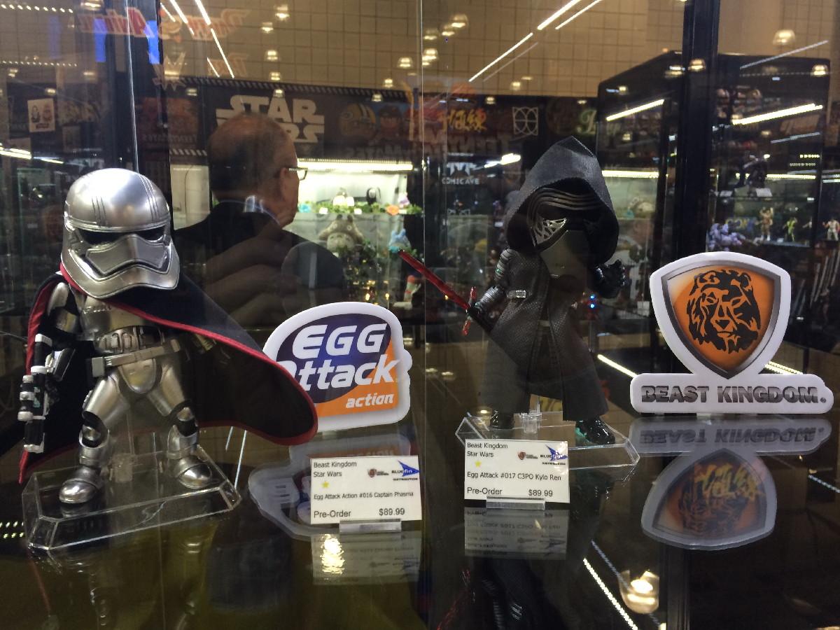 'Star Wars' Egg Attack Action Figures