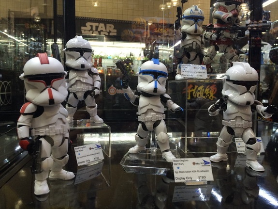 "The ""Star Wars"" Egg Attack action figures by Beast Kingdom now include First Order Clone Troopers."