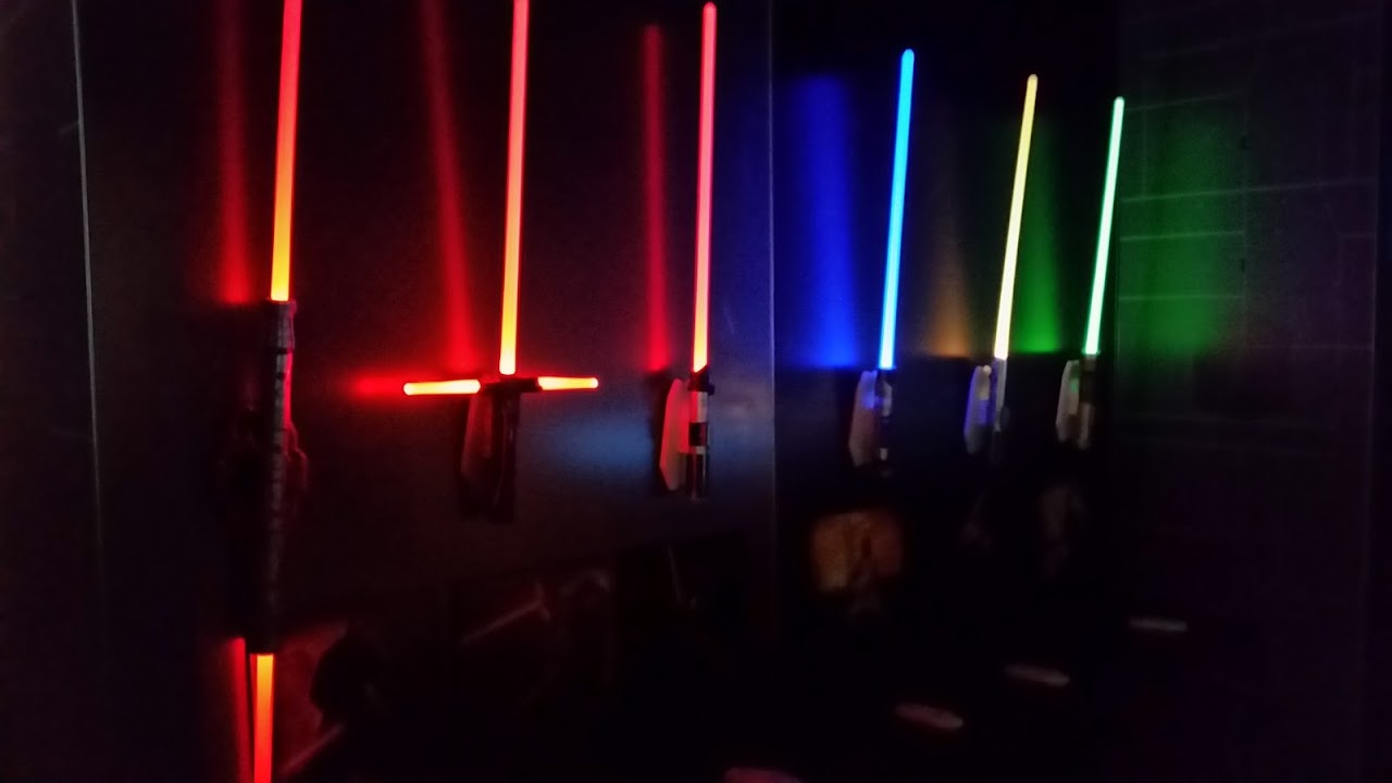 Uncle Milton Wall Lightsabers