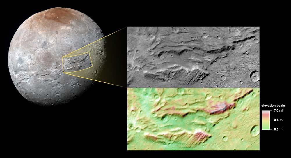 Serenity Chasma and close up