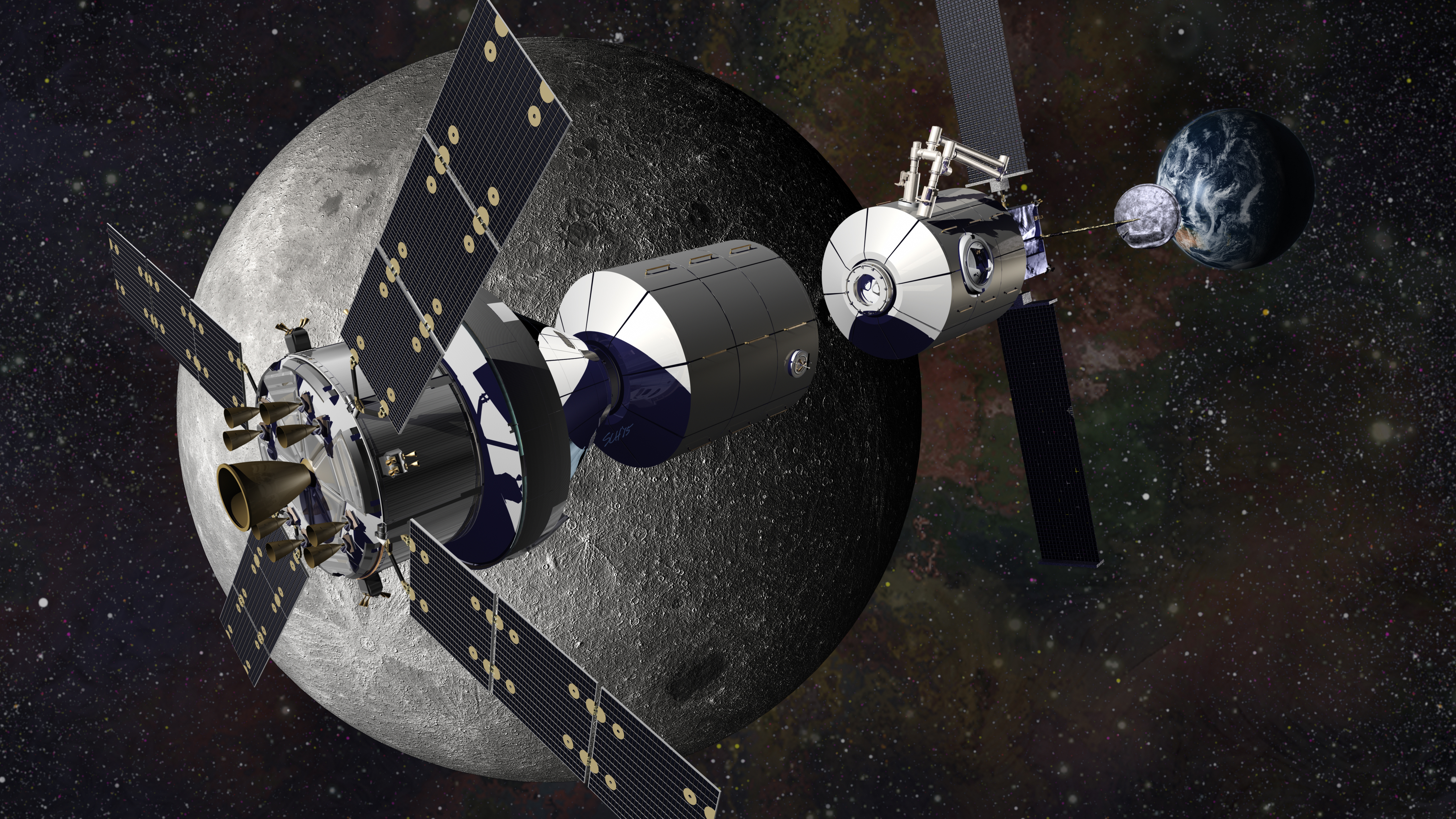 Plans Being Devised for Human Outpost Near the Moon