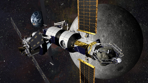 With a dedicated airlock, a cislunar habitat can provide capabilities for advanced extravehicular activities that enhance the number and quality of astronaut interactions with any asteroid sample returned by NASA's proposed Asteroid Redirect robotic vehicle.