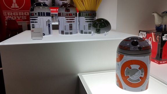 A BB-8 pasta container from Underground Toys.