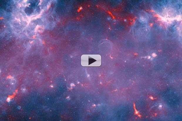 Milky Way's Cold Anatomy Revealed | Video