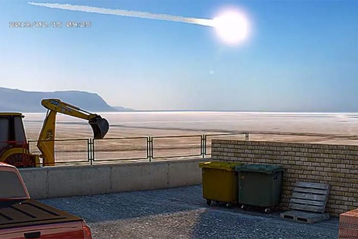 Risultati immagini per meteor chelyabinsk