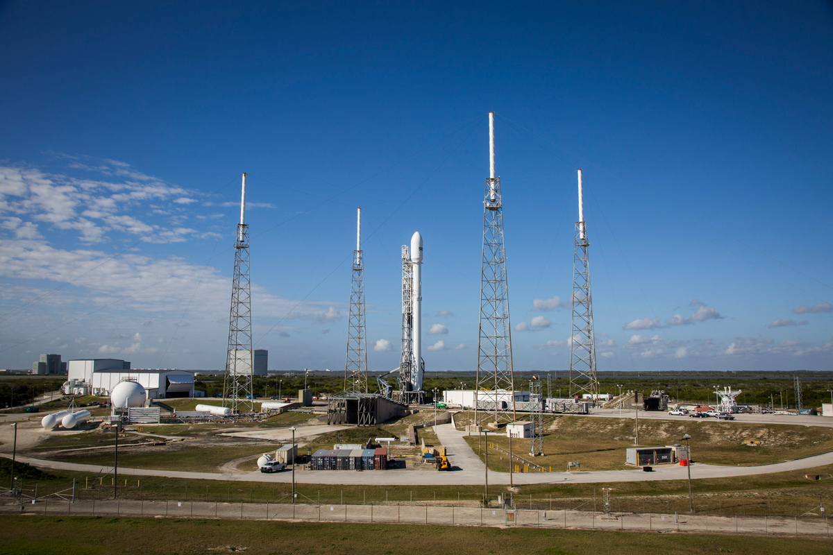 SES-9 Satellite Ready to Launch