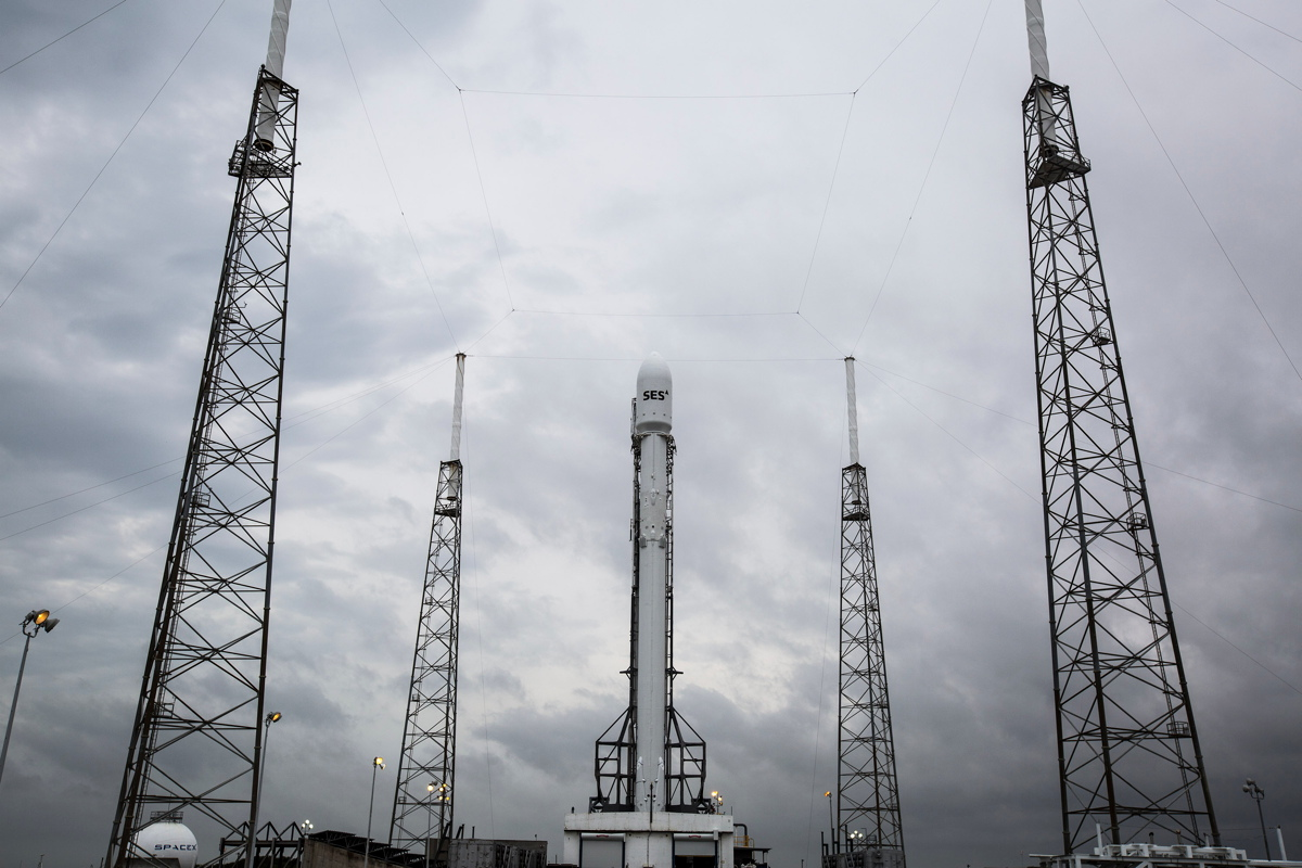 SES-9 Launch Weather Prediction