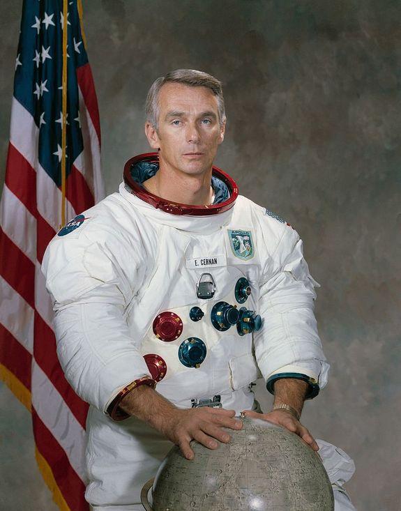 "Eugene Cernan, the last Apollo astronaut to walk on the moon, is the focus of the documentary ""Last Man on the Moon."""