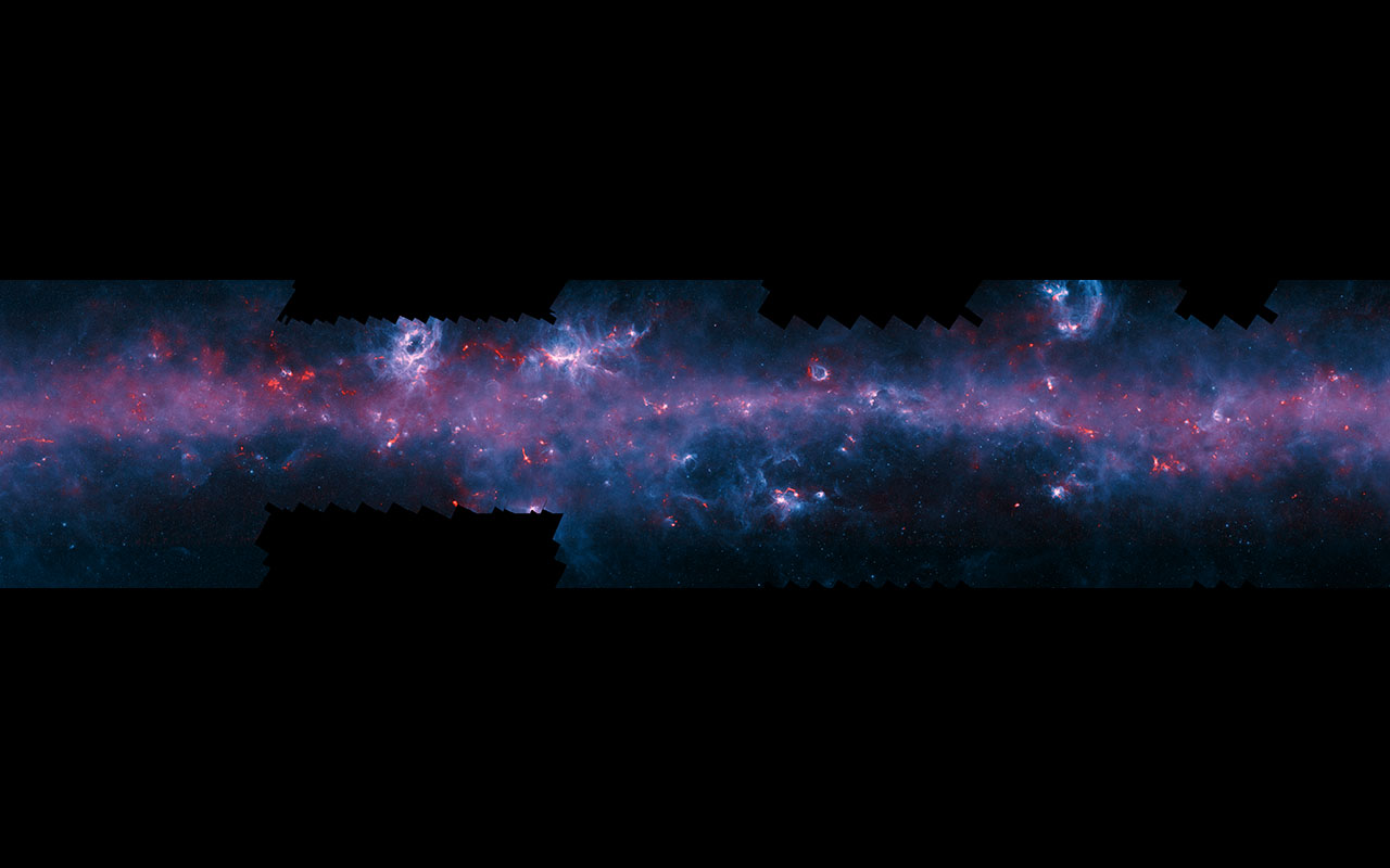 Incredible New View of the Milky Way Revealed