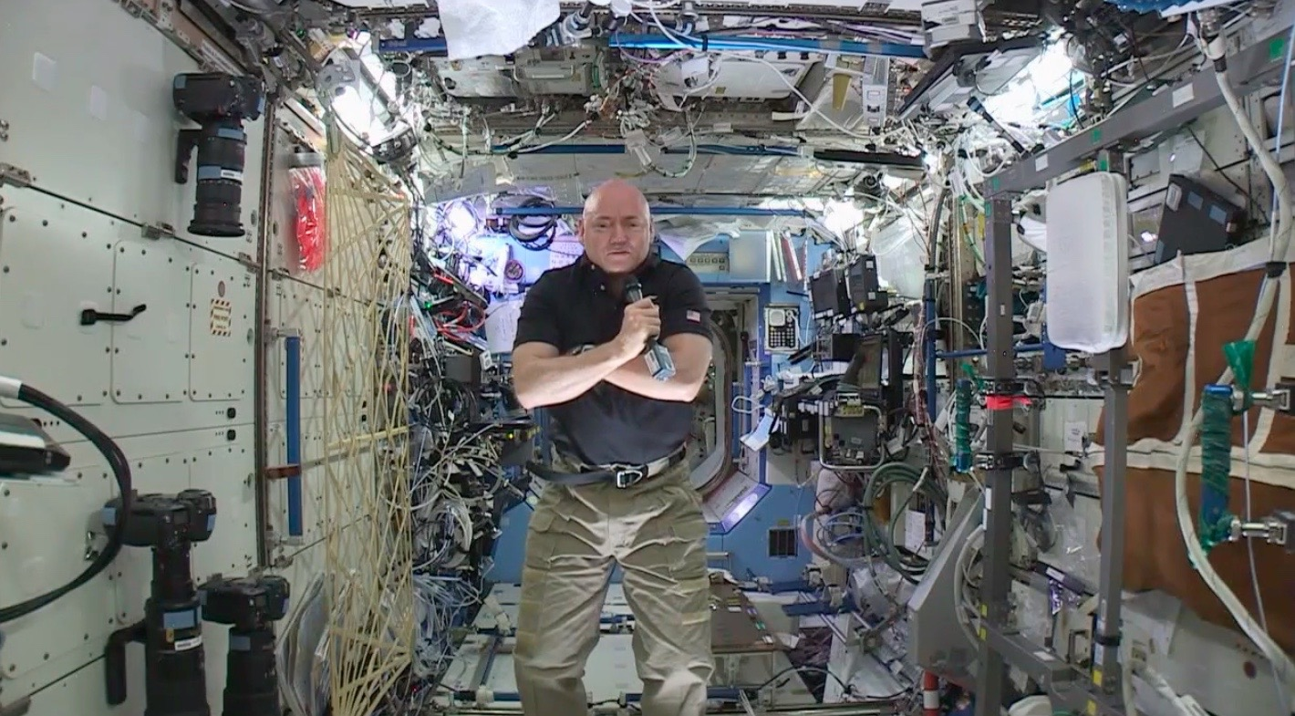 Astronaut Scott Kelly: 'I Could Go Another Year' Aboard Space Station
