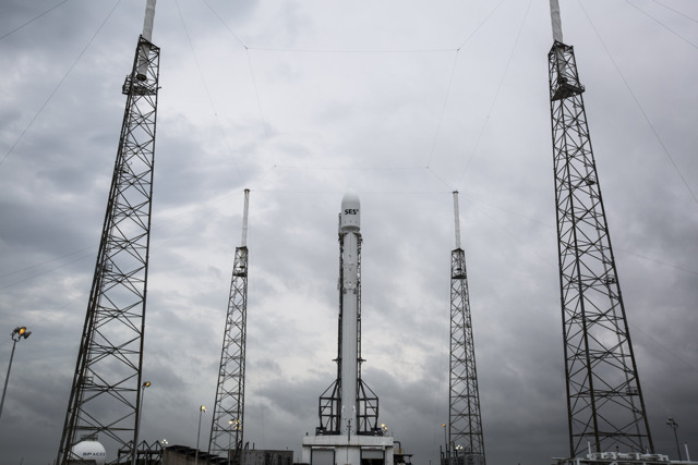 SpaceX Scrubs Satellite Launch, Rocket Landing Attempt