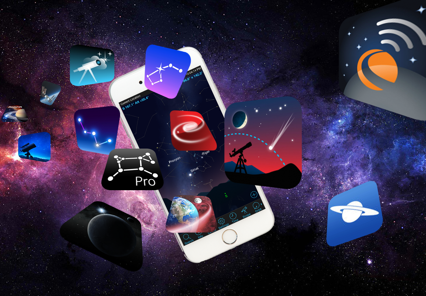Mobile Stargazing: A Universe of Astronomy Apps to Explore the Sky