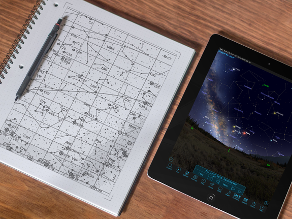 Mobile stargazing apps are loaded with features that run circles around stuffy old paper atlases.