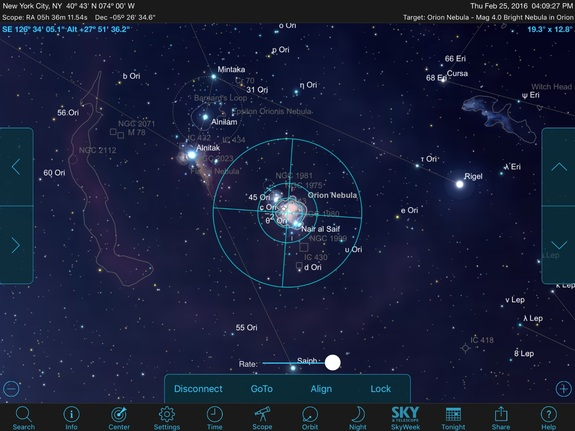 Some apps offer extensive support for controlling all major telescope brands on both iOS and Android devices, allowing you to view thousands of objects through your telescope that are otherwise invisible to the unaided eye.
