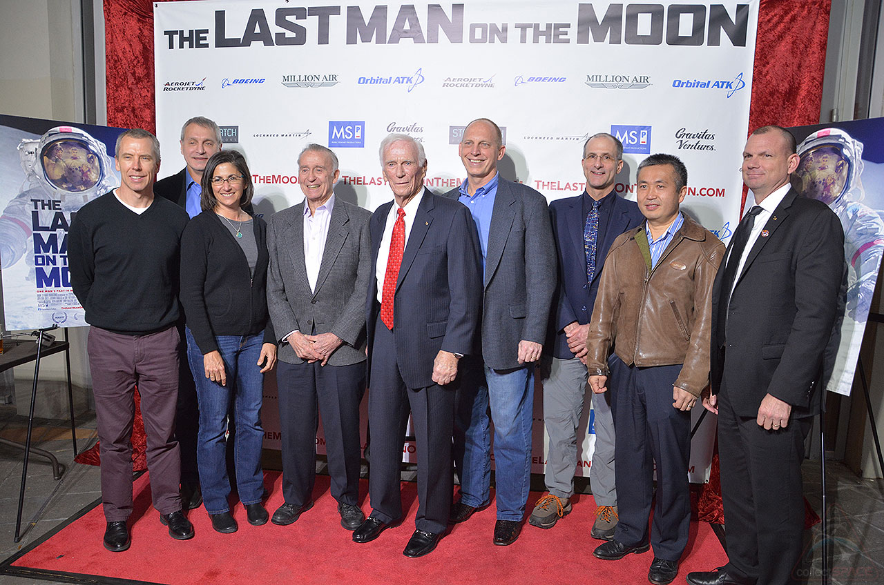 'Last Man on the Moon' Premiere in Houston