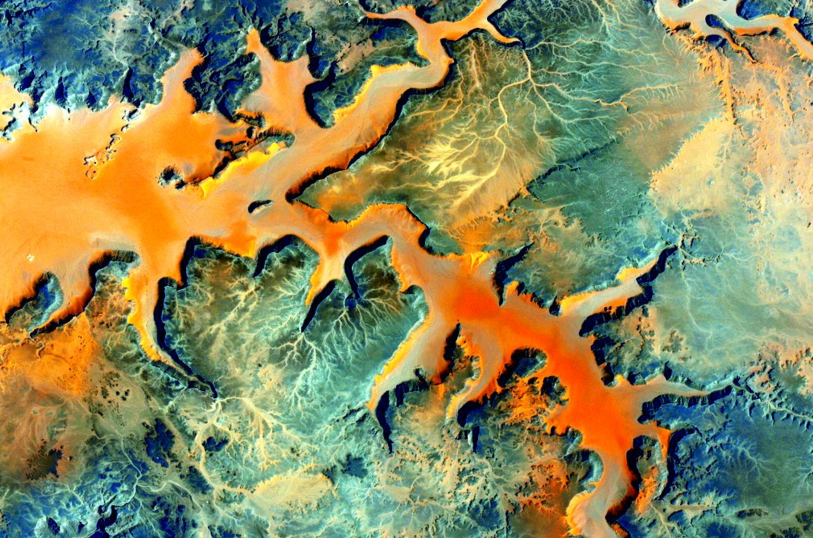 Africa From ISS by NASA Astronaut Scott Kelly