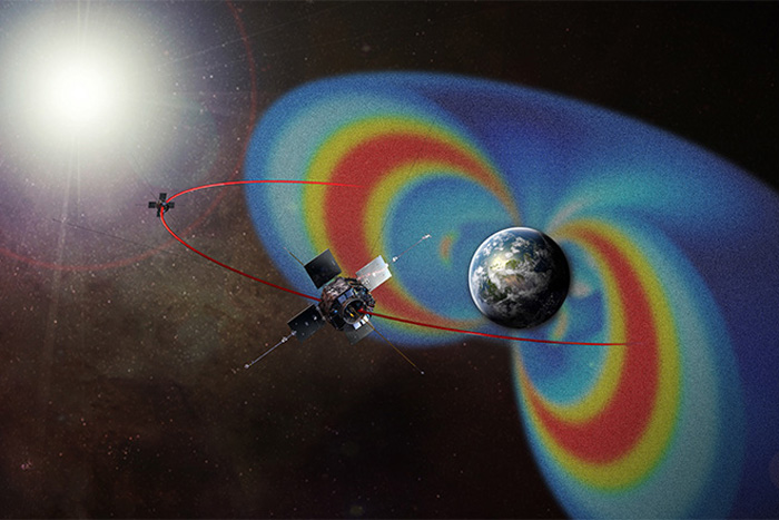 Earth's Radiation Belts Change Wildly With Solar Storms