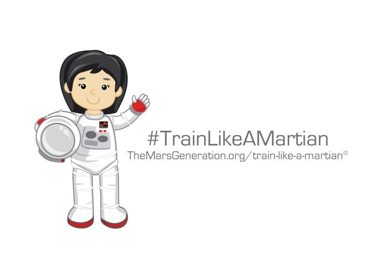 'Train Like a Martian' Challenge Inspires Kids to Get Active