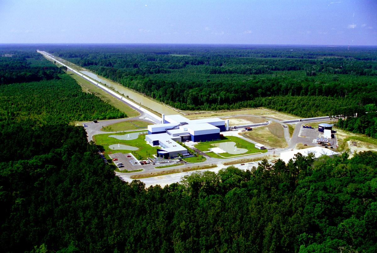 Aerial Photo of LIGO Livingston