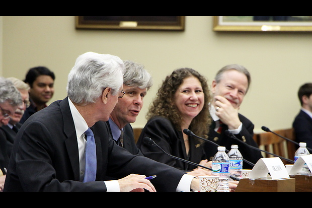 LIGO Team Members at the Congressional Hearing