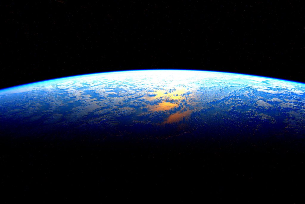 Scott Kelly Twitter Photo of Earth