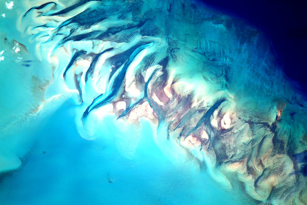 Water Seen from Space by Scott Kelly