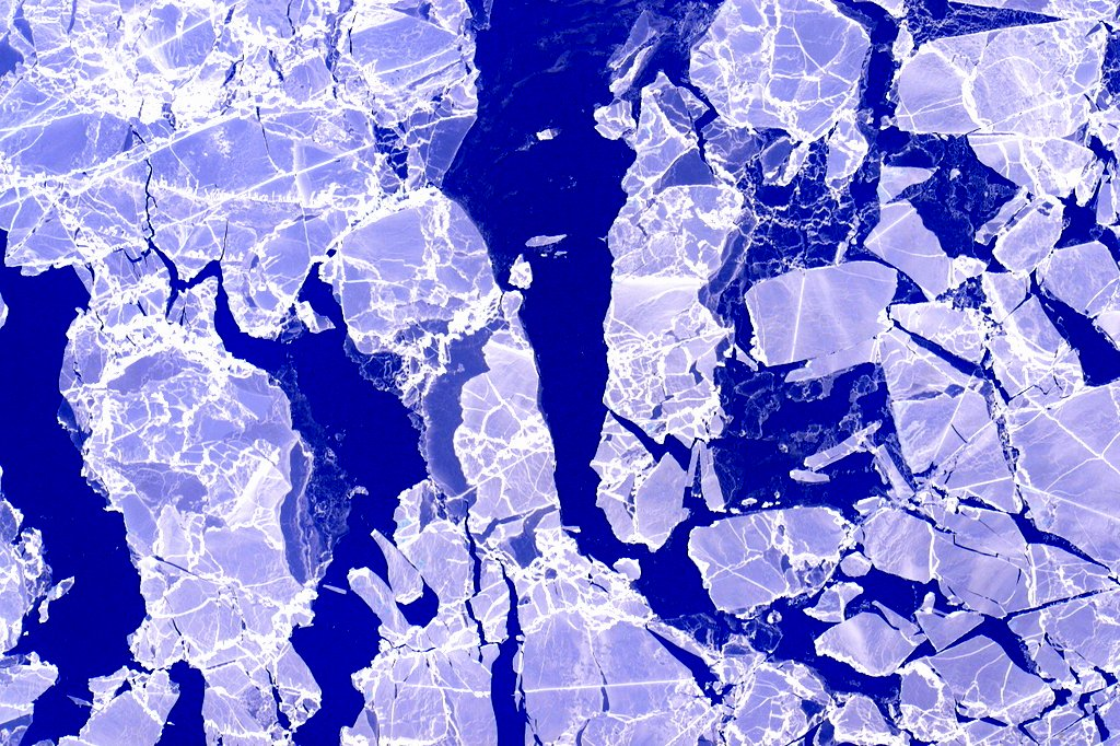 Ice from Space by Scott Kelly