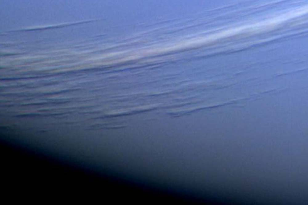 Approaching Neptune