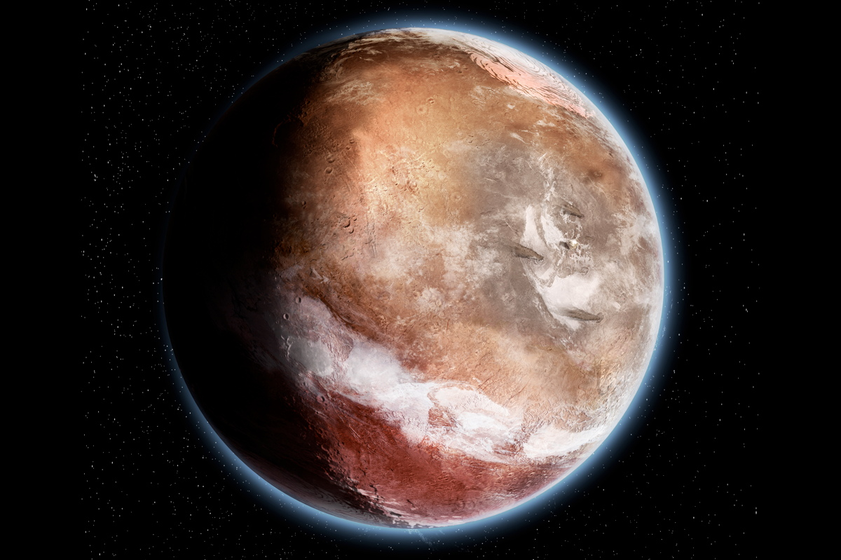 Mars 4 Billion Years Ago