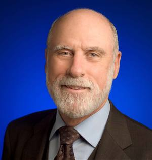 Vinton G. Cerf, vice president and Chief Internet evangelist for Google.