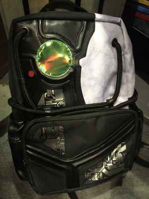 The Borg backpack from The Coop.