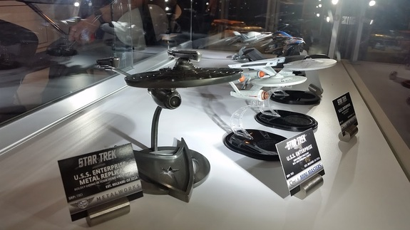New models of the USS Enterprise from Metal Works and Mini Masters, via Quantum Mechanix.
