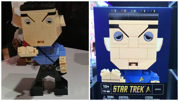 Spock is one of two Kubro figures by Mattel.