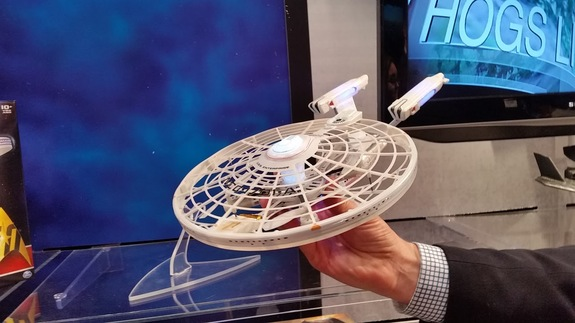 The USS Enterprise quadcopter from the Air Hogs line from Spin Master.